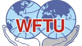 Tale ved 70 året for WFTU i Sao Paulo